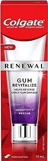 Colgate Renewal Gum Revitalize Toothpaste, Sensitivity Rescue, Fresh Mint Gel Formula, 70 Milliliters