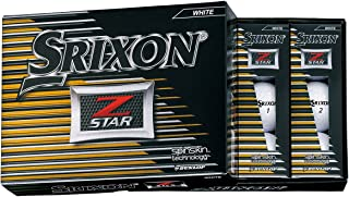 DUNLOP(ダンロップ) ゴルフボール SRIXON Z-STAR ゴルフボール 2017年モデル 1ダース(12個入り)   ホワイト