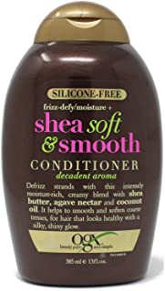 Conditioner Shea Soft & Smooth Frizz Defy 13 Ounce (385ml) (3 Pack)