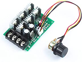 REES52 PWM DC Motor Speed Controller 40A 12V / 24V / 36V / 48V Wire Motor Drive Electronics Switch Module Maximum Power 2000W