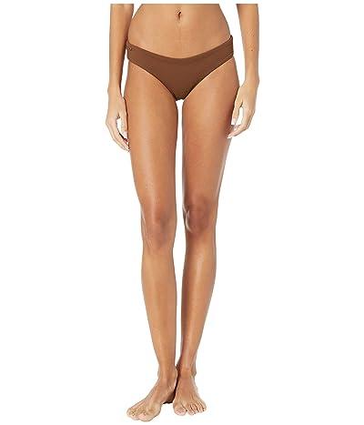 Maaji Sublime Reversible Signature Coverage Bikini Bottoms (Coconut Brown Texture) Women
