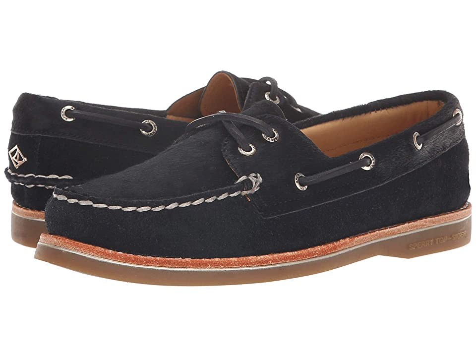 Sperry A/O Pony Hair (Black) Women