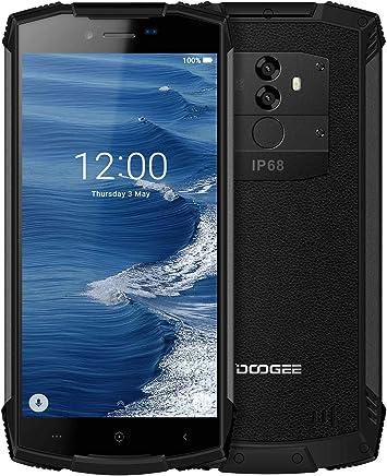 Movil Antigolpes Android 8.0, DOOGEE S55 Móviles y Smartphones Libres 4G Dual SIM, IP68 Telefono Impermeable 4GB RAM 64GB ROM, 5500mAh, Cámara 13.0+8.0MP/5MP, 5.5