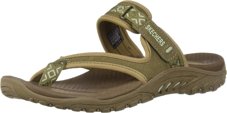 Skechers damen& 39;s Reggae-Trailway Flip-slop Sandals Flop