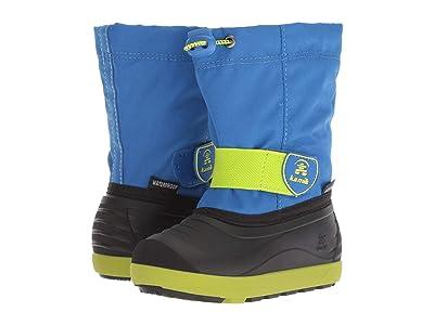 Kamik Kids Jetwp (Toddler/Little Kid/Big Kid) (Blue/Lime) Kids Shoes