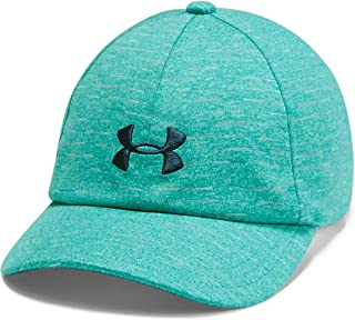 Under Armour Girl's Girls Space Dye Renegade Cap, Blue (Breathtaking Blue/Tandem Teal), One Size