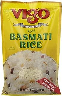 Vigo Basmati Rice, 12-Ounce Pouches (Pack of 12)