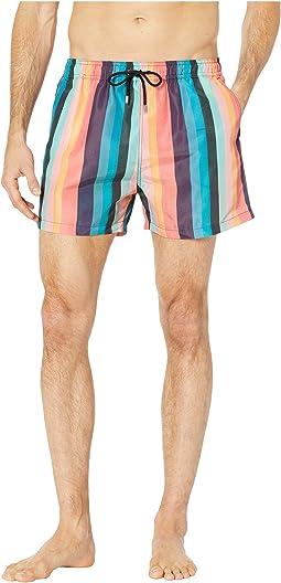 Artist Stripe Classic Swim Shorts