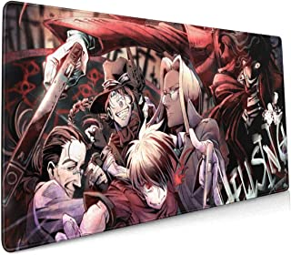 Hellsing Ultimate Large Gaming Mouse Pad (35.43 X 15.75X 0.12inch) Extended Ergonomic for Computers Thick Keyboard Mouse M...