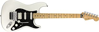 Fender Player Stratocaster Electric HSS Guitar - Floyd Rose - Maple Fingerboard - Polar White
