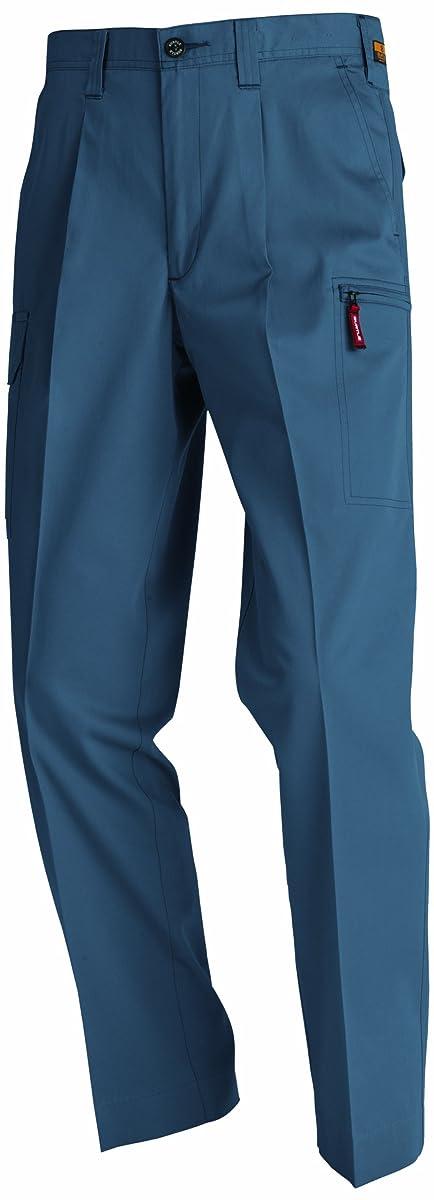 したい政治家おっとBURTLE バートル ワンタックカーゴパンツ(春夏用) 8026 スティール 105サイズ
