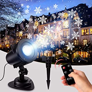 Best snowflake christmas light projector Reviews
