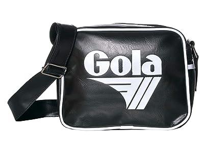 Gola Micro Redford (Black/White) Messenger Bags