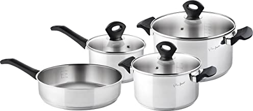 Lamart Stainless Steel Set Of 7 Pots