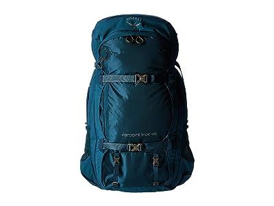 Osprey 55 L Farpoint Trek (Petrol Blue) Backpack Bags