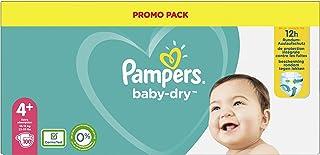 Pampers Baby Dry - Luiers Maat 4+ (10-15 Kg) - 100 Stuks - Family Pack