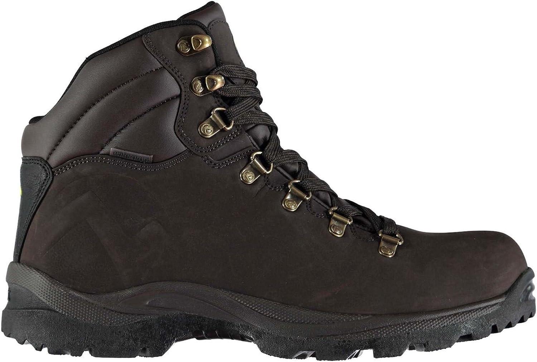 Official Gelert Atlantis Walking Boots Mens Brown Hiking Trekking shoes Footwear