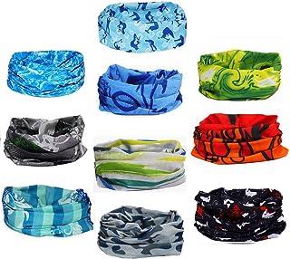 SODASS Pañuelo para la Cabeza Bandana Cintas Pelo Deporte Bandas para Cabello Hombre Mujer Ciclismo Yoga Bufanda Headband Headwear elástico Turbante Moto Playa