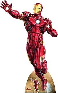 STAR CUTOUTS Ltd SC1532 - Recorte de cartón de tamaño Real de 200 cm, diseño de los Personajes de los Vengadores de Marvel