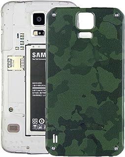 39663c7a21b YICHAOYA Piezas de Repuesto Tapa Trasera para batería Samsung Tapa Trasera  para Galaxy S5 Active /
