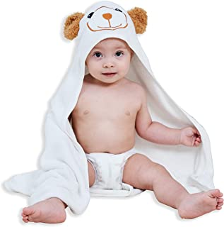 (30 80cm , Bear) - Bamboo Baby Bath Towel - Ultra Absorbent Soft Baby Hooded Towels for Infant and Toddler - Cute Design K...