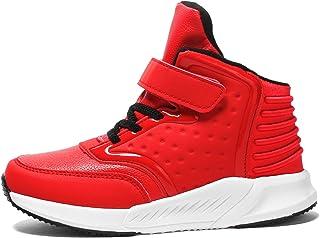 c2215a64226be Voovix Baskets Enfants Chaussures de Sport Sneakers Montantes pour Garçons  et Filles