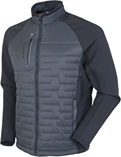 Men's Hamilton Thermal Stretch Jacket - Charcoal/Charcoal Melange