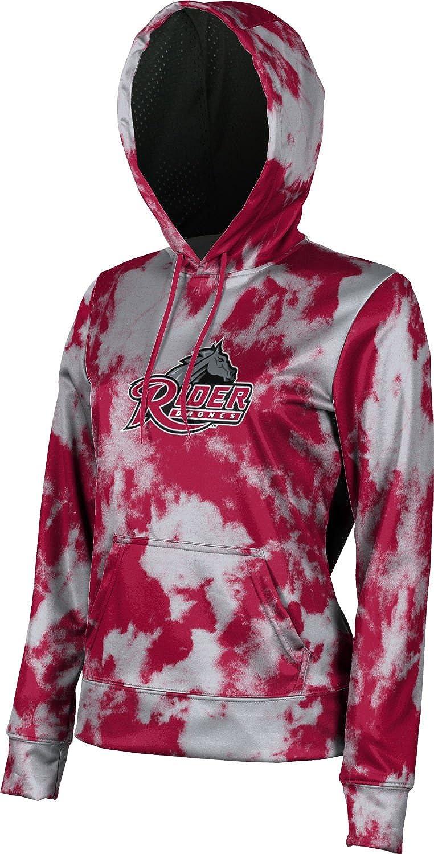 Rider University Girls' Pullover Hoodie, School Spirit Sweatshirt (Grunge)