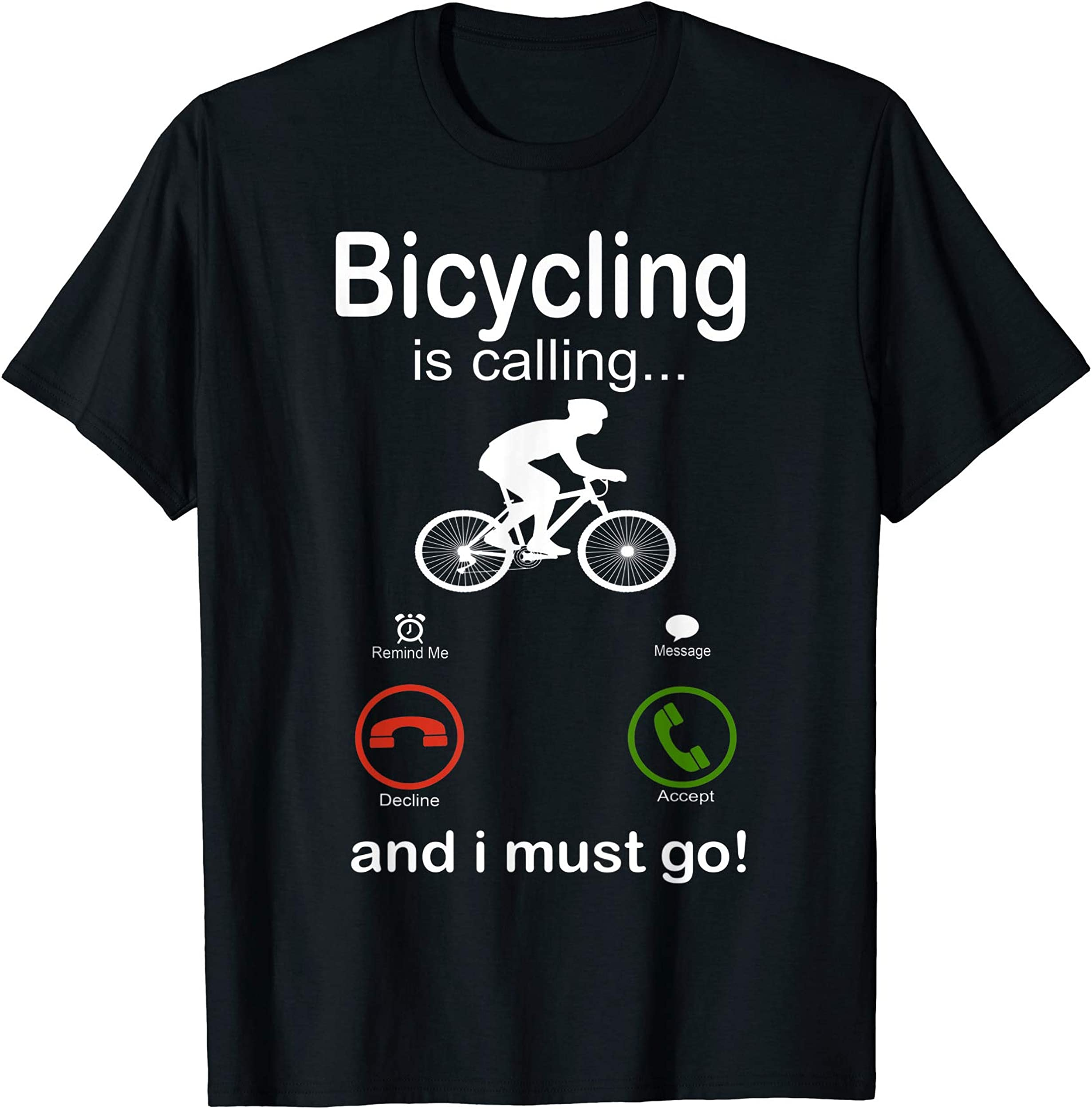 funny bicycling tshirt bicyclist gift Bicycle Rider cyclist T-Shirt