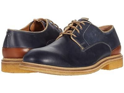 J&M Collection Wagner Plain Toe (Navy 2) Men
