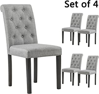 gray parson chairs