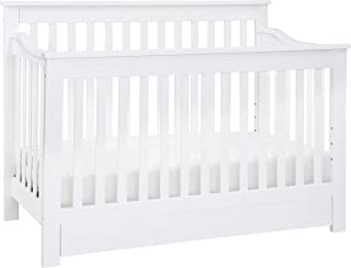 DaVinci Piedmont 4-in-1 Convertible Crib with Toddler Bed Conversion Kit, White