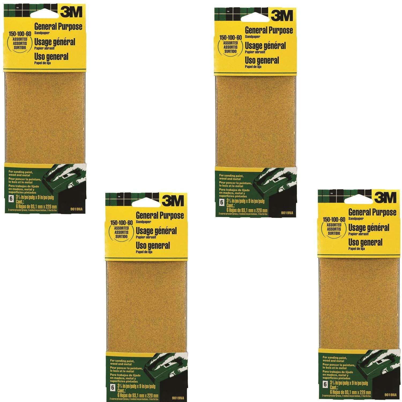 All-Purpose Assorted Sandpaper 3M
