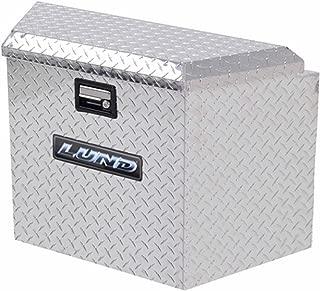 Lund 6120 16-Inch Aluminum Trailer Tongue Truck Box, Diamond Plated, Silver