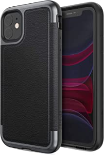 Defense Prime, iPhone 11 Case - Military Grade Drop Tested, Anodized Aluminum Frame, Luxurious Back Panel, and Polycarbonate Protective Case for Apple iPhone 11, (Black)