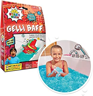 Ryan's World Gelli Baff Aqua from Zimpli Kids, Turns Water into Thick, Colourful goo, Stocking Fillers for Boys & Girls, P...