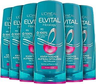 L'Oréal Paris Elvital Fibralogy Conditioner 6 Pack (6 x 250 ml)