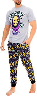 Men's Skeletor He-Man Villain Pyjama Set with Eye Mask Official Masters of The Universe Nightwear