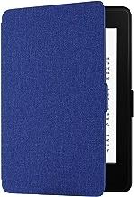 EasyAcc Custodia per Kindle Paperwhite - con Sonno/Sveglia la Funzione Compatibile con Kindle Paperwhite 2012/2013/ 2015, Blu Navy (Non è Compatibile con la Versione 2018 di Kindle Paperwhite)