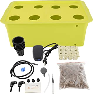HighFree Hydroponic System Growing Kit for Plants Herb Garden Starter Set DIY Self Watering Indoor Hydroponics Tools with ...