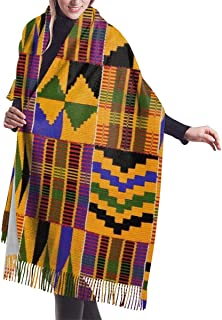 Cashmere scarf women Ghana Kente Materials Decorative scarf