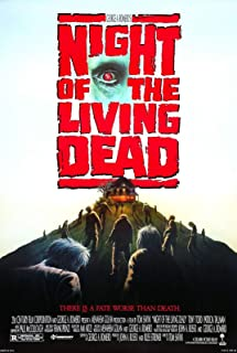 72757 Night of The Living Dead Movie 1990 Horror Decor Wall 36x24 Poster Print