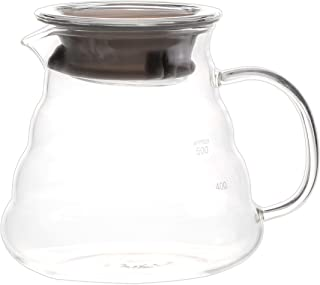 Blue Brew BB1008 Borosilicate Glass Coffee Server | 600 ML | Heat Resistant Glass Construction | Superior Heat Resistance | Range Server | Perfect for Pour Over Coffee Dripper Method