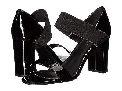 Vaneli Berdy (Black Patent/Black Elastic) High Heels