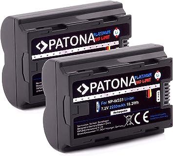 Patona Platinum Ersatz Für Akku Fujifilm Np W235 Kamera