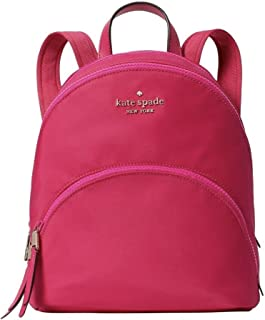 Medium Nylon Backpack Bright Magenta