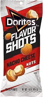 Doritos Flavor Shots Nacho Cheese Coated Peanuts - 1.75oz