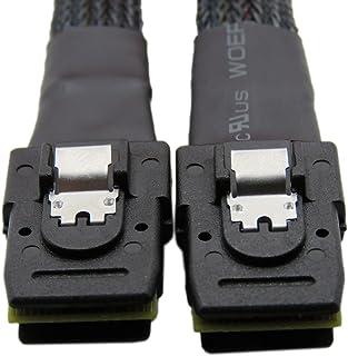 YIWENTEC mini SAS pin a mini SAS 36PIN (sff-8087) HDD cavo dati 0.7m