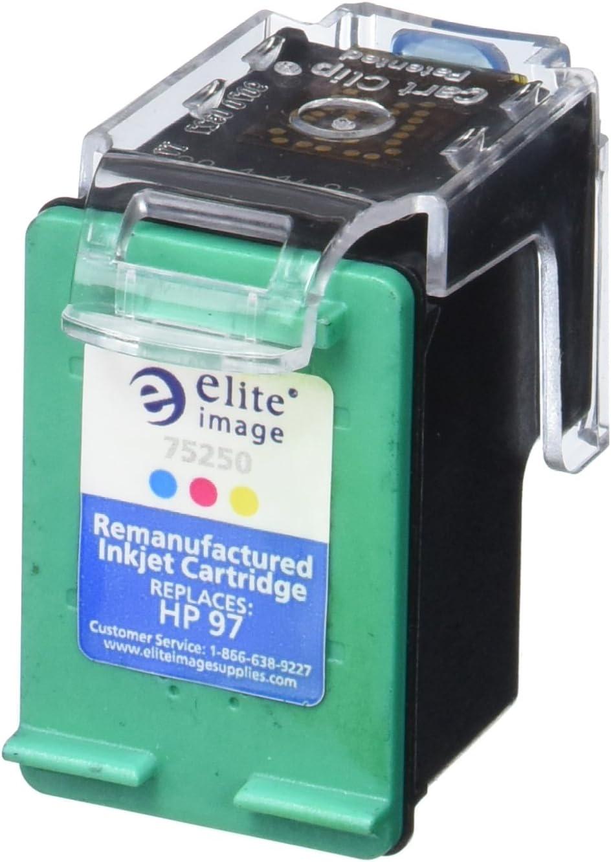 Elite Image ELI75250 Compatible Ink-Jet Replaces HP C9363WN (97), Tri-Color
