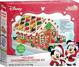 Crafty Cooking Kits Disney Holiday House Kit, Gingerbread, 27.5 Ounce